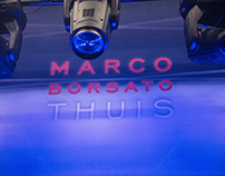 Stage design for Marco Borsato Thuis Theatre Tour