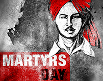 Martyrs Day Poster