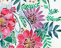 Floral Paintings 2016