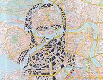 Human Cartography: Fyodor Dostoevsky / St. Petersburg
