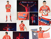 FC Dallas 2016 Primary Kit Launch