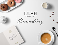 Lush Hotel Branding