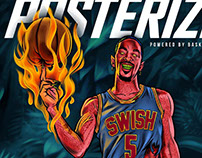 J.R. Swish (Posterizes Issue #3 Cover Art)