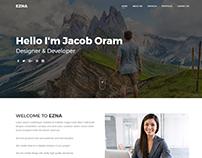 Ezna - Personal Portfolio WordPress Theme