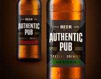 "Beer ""Authentic Pub"""