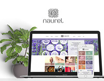 Naurel Logo, Branding and E-commerce website