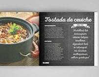 Cocina Deliciosa - Cook Book Design