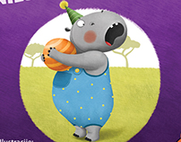 Angry hippo bites ::: educational picture book