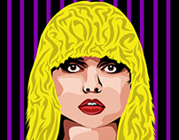 Blondie Vector Illustration