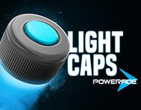 Powerade Light Caps