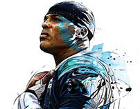 Superbowl 2016/ Cam Newton