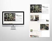 plant shop web: prototype design