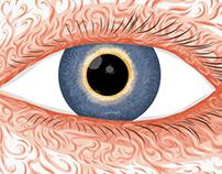 Vector Eye Doodle