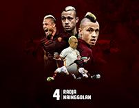 Radja Nainggolan - AS Roma player