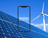 SIEMENS ENERGY - Corporate Site Redesign Concept