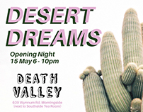 Desert Dreams Exhibition and Zine