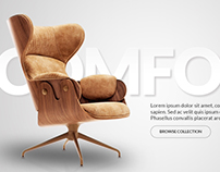 Chairs - Website Concept