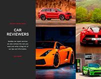 Mechanic WordPress Theme - Cars Gallery