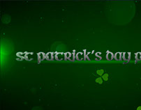 Free After Effects Project - St Patrick's Day Promo