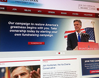 Jon Huntsman 2012 - presidential campaign website