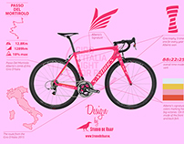 Alberto Contador - Fight for pink - Concept Design