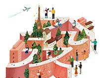 illustrations for Seoul National University