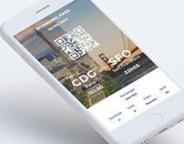 Boarding pass design #DailyUI