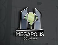 Brand design for Megapolis Colombo
