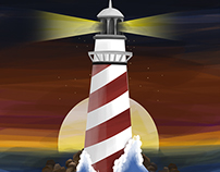 "Literary project ""Lighthouse"""