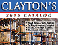 Catalog Design / Art Direction (Clayton's Catalog 2015)