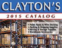 Catalog Design / Art Direction (Clayton's Catalog 2015)