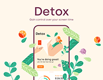 DETOX - Gain control over your screen time