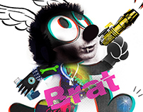 Brut Brat - Threadless T-Shirt submission