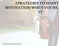 Strategies to Maintain Motivation when You're Lacking