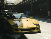 F40 | CGi | MAGROUND Collab #3