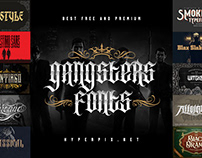 Best Gangster Fonts Collection