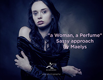 """""""A woman, a perfume"""", sassy approach by Maelys"""