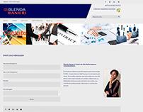 Web Site blendaranieri.com.br
