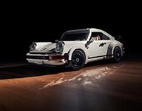 Porsche 930 Turbo LEGO