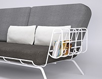 Contour Couch - Lightweight Sofa Design