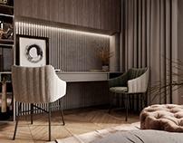 Cabinet interior design