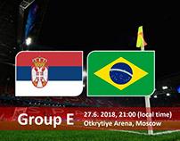 Soi kèo Brazil vs Serbia