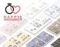 Digital Wedding Album Templates - Happy Wedding App