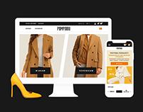 Pompidou — Online Clothing Store