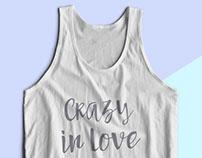 Bachelorette Tanks   Crazy in Love + Just Crazy