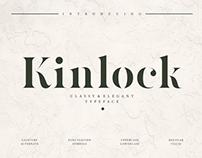 KINLOCK - FREE ELEGANT STENCIL SERIF
