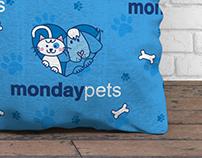 Monday Pets - Brand Identity