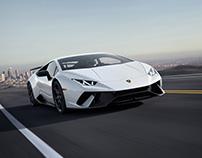 Lamborghini Huracan Performante '18 - CGI