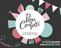 Pepa Confetti - Flyer