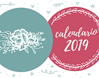 Calendario ilustrado 2019